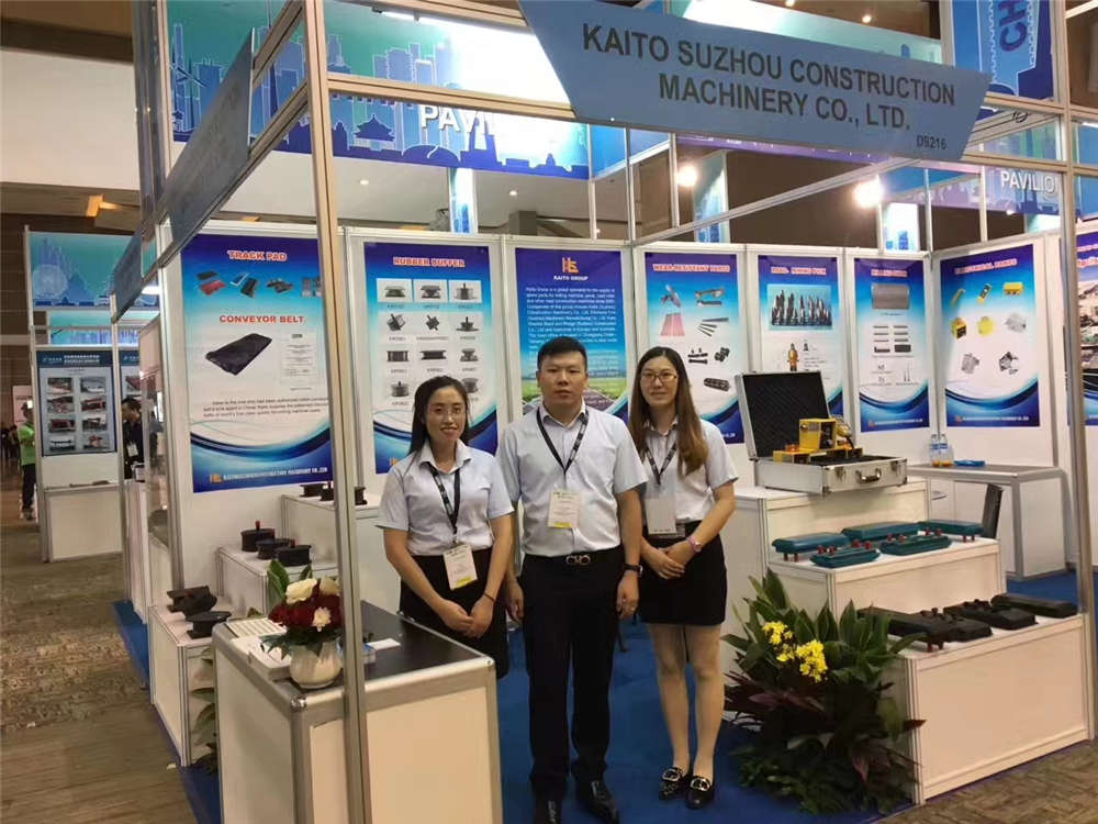 Kaito at Mining&Construction Indonesia 2017