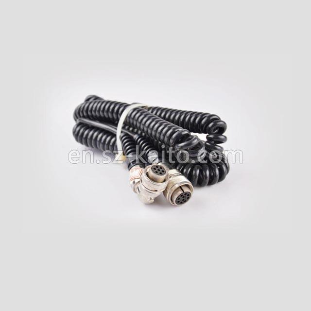 Seventeen cores cable