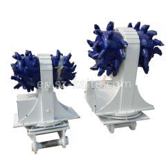 Excavator hydraulic milling cutter